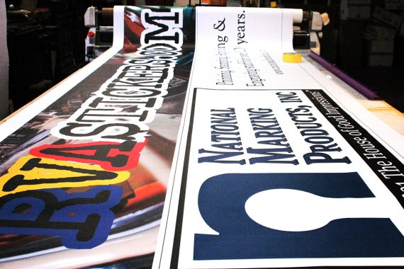 large custom banners